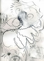Drawing 2010, pencil on paper, 31 x 22.5 cms
